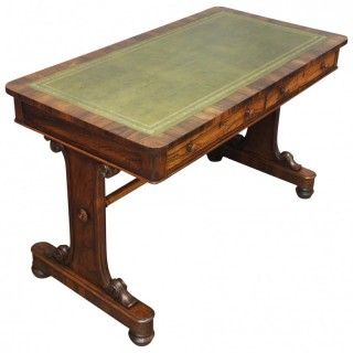 George IV Rosewood Library Table