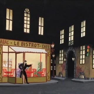 Le Bistrot  by Erté  (Romain de Tirtoff) (1892-1990)