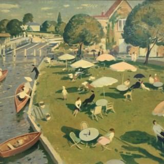 Robert Duckworth Greenham - The Thames at Marlow