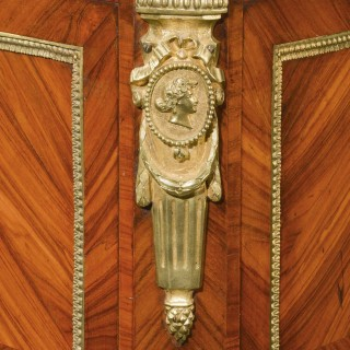 A Late 19th Century Elaborate Gilt Bronze Dwarf Cabinet