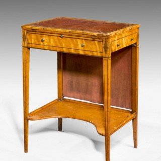 George III Period Writing Screen Table