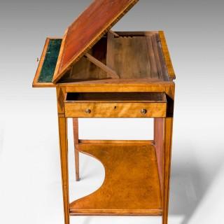 George III Period Writing Screen Table