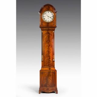 Late 19th Century Mahogany Longcase Clock by Maple and Co