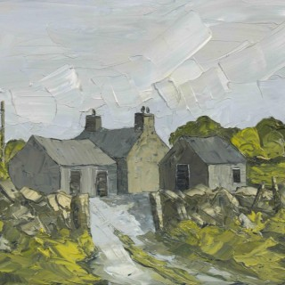 'Evening Light, Anglesey' by Welsh artist Martin Llewellyn