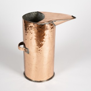 LARGE COPPER DISTILLERY JUG