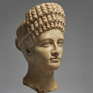 A Finely Carved Grand Tour Head of a Roman Empress