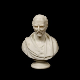 A Marble Bust of the Duke of Wellington by Robert Physick