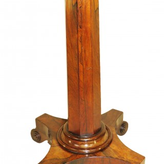 19th Century Regency Rosewood Chess Table
