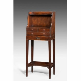 George III Period Mahogany Cheveret