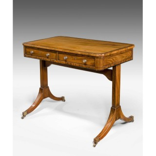 George III Period End Support Writing Table