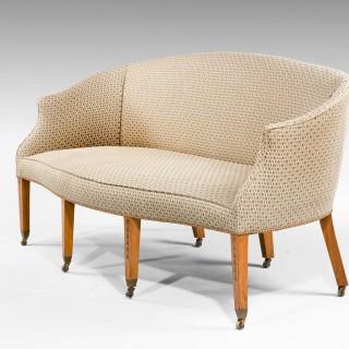 George III Period Satinwood Sofa