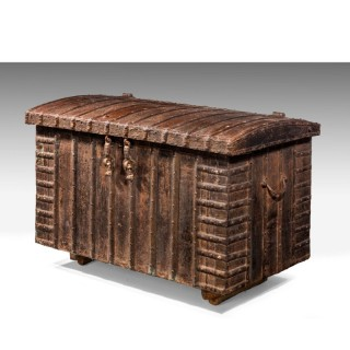 Mid 19th Century Cast Iron Chest
