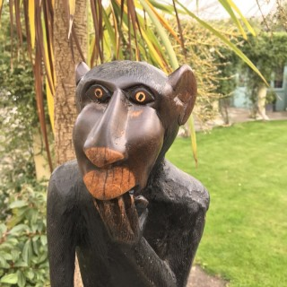 Monkey of Lignum Vitae