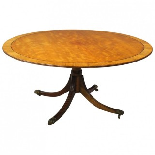 Victorian Mahogany Large Oval Breakfast Table
