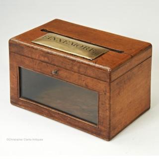 Finnemore Oak Letter Box