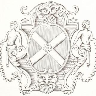 Britannia Standard Silver Salvers by Paul de Lamerie - Antique George II (1731)