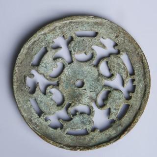 Roman Bronze Openwork Harness Mount