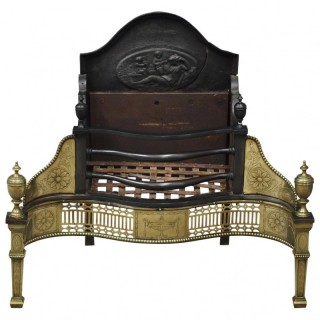 George III Style Fire Basket from Monkton Hall