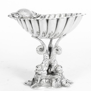 Antique Victorian Silverplate Centrepiece Benetfink & Co 19th Century