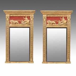A Pair of Regency Pier Mirrors