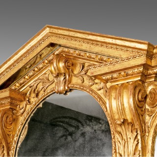 A Fine 18th Century Mirror attributed to John and Francis Booker (Dublin)