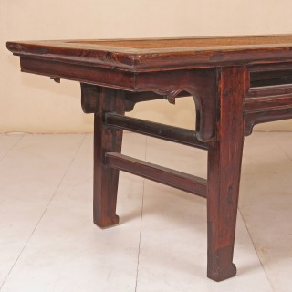 19th Century Chinese Elm Low Table