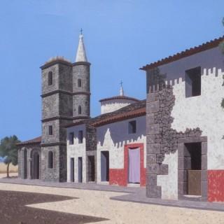 Guijo de Calisteo  by  Tristram Hillier RA (1905 – 1983)