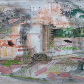 Auzay, Vendée, France  by  John Piper (1903 – 1992)