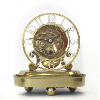 Brass fusee Skeleton Timepiece, John Pace