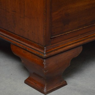 George III Chest on Chest in Mahogany