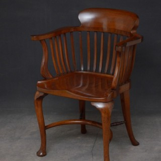 Victorian Mahogany Office Chair