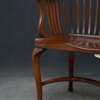 Victorian Mahogany Office Chair