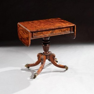 Fine Regency Mahogany Sofa Table Of Small Proportions William Trotter.