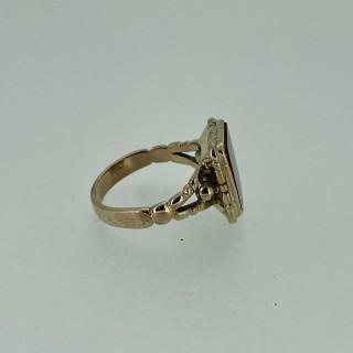 Victorian Gold Carnelian Ring