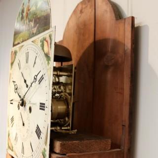 Early 19th Century Oak Longcase Clock