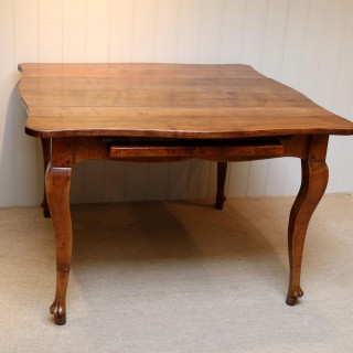 French Cherry Wood Extending Table