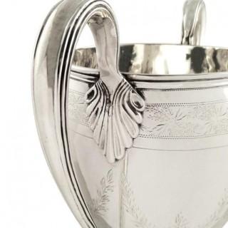 Antique Georigan Sterling Silver 9 1/2