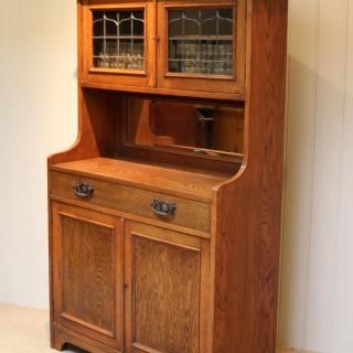 Small Proportioned Oak Dresser