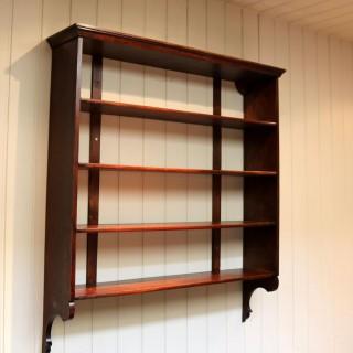 Substantial Oak Wall Shelves