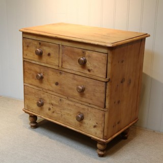 Rustic Pine Chest Of Drawers