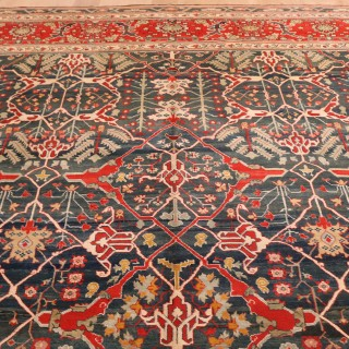 A magnificent Indian Agra Carpet