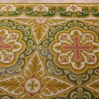 English Needlework Neo Gothic Carpet