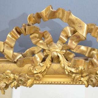 Superb 19th Century Giltwood Mirror