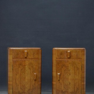 Pair of Art Deco Style Bedside cabinets