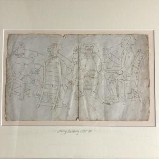 Drawing by Henry Bunbury