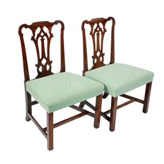 18th Century Black Walnut Chairs