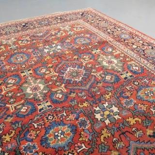 Elegant c.1900 Mahal carpet