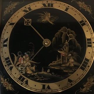 Art Deco Lacquer Clock