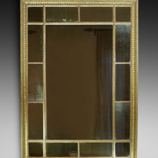 18th century, Adam period, gilt mirror