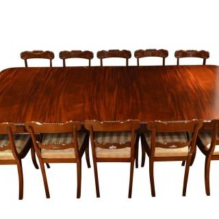 Regency Mahogany Extending Dining Table